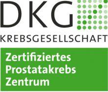 DKG Zertifiziertes Prostatakrebszentrum